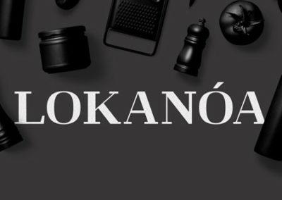 Desain Logo LOKANOA