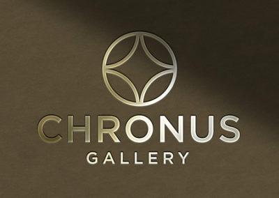 Desain Logo & Brand Chronus Gallery