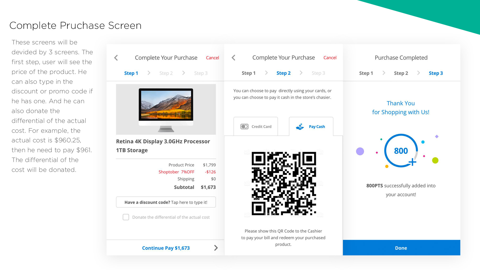 Groceree UIUX Mobile App Design by YELOSTD