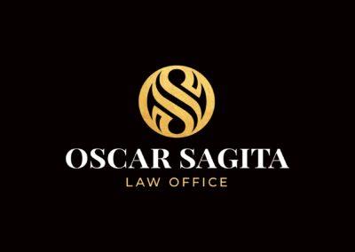 Desain Logo dan Branding Collateral Oscar Sagita Law Office
